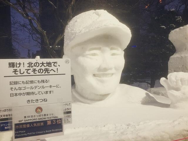 雪まつり_雪像_清宮