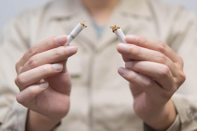 節約するために一日2箱吸っていたタバコを1箱に減らすことに成功しました。
