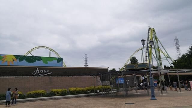 東武動物公園のジェットコースター