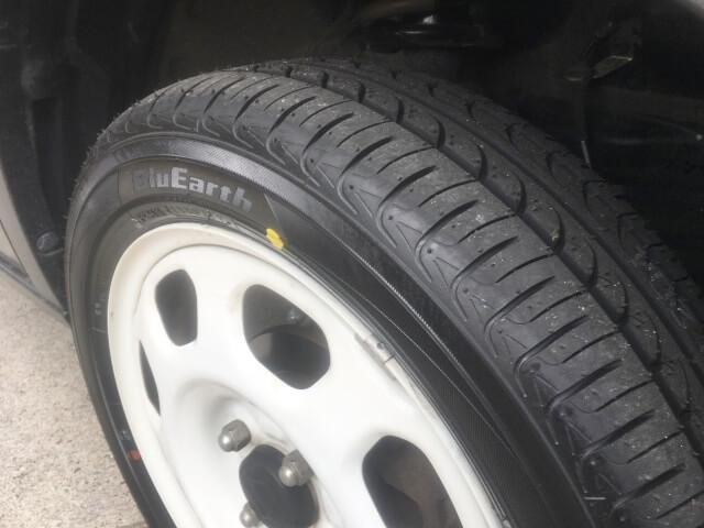 SUZUKIハスラーのタイヤを「YOKOHAMAのBlueEarthAE01」に交換してきました。