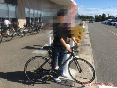 ワーグ アルミクロスバイク マットブラック